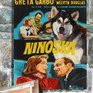 Alaskan Malamute Poster Canvas Print -  Ninotchka
