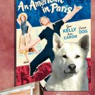 Canaan Dog Canvas Print -An American in Paris Movie Poster