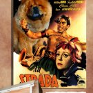 Chow Chow Canvas Print - La Strada Movie Poster