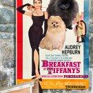 Pomeranian Canvas Print -  Breakfast at Tiffany's Movie Poster