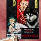Siberian Husky Canvas Print - VERTIGO Movie Poster