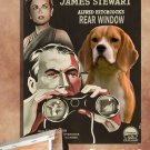 Beagle Canvas Print - REAR Window Movie Poster
