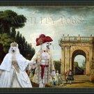 Volpino Italiano Fine Art Canvas Print - View of the Villa Ludovisi Park in Rome