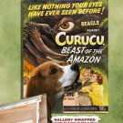 Beagle Canvas Print - CURUCU, Beast of the Amazon Movie Poster