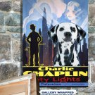 Dalmatian Canvas Print -  CITY LIGHTS Movie Poster