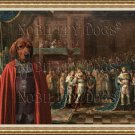 Alpine Dachsbracke Fine Art Canvas Print - My King