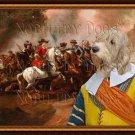 Basset Griffon Vendeen Fine Art Canvas Print - Grande A skirmish