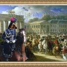 Basset Griffon Vendeen Fine Art Canvas Print - Petit Entrée de Napoléon à Berlin