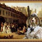 Beagle Fine Art Canvas Print - Bon Voyage
