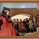 Beagle Fine Art Canvas Print - La Noce