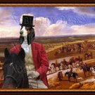 Berner Laufhund Fine Art Canvas Print - The Warren Hill at Newmarket