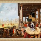 Grand Anglo Français Fine Art Canvas Print - Tricolore-Elegant company