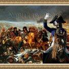 Grand Gascon Saintongeois Fine Art Canvas Print - Napoléon sur le champ de bataille d'Eylau