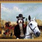 Griffon Nivernais Fine Art Canvas Print - Trafalgar Square