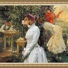 Hamiltonstovare  Fine Art Canvas Print - Le Bibliomane