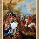 Ogar Polski Fine Art Canvas Print - A market Scene