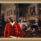 Rhodesian Ridgeback Fine Art Canvas Print - The Lady chose another Cavalier