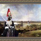 Scottish Terrier Fine Art Canvas Print - Palace London Guard