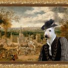 Scottish Terrier Fine Art Canvas Print - Going to the Fair