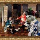Sealyham Terrier Fine Art Canvas Print - Thoroughly Beaten