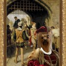 Yorkshire Terrier Fine Art Canvas Print - The City Gate