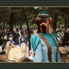 Yorkshire Terrier Fine Art Canvas Print - Music with Tuileries
