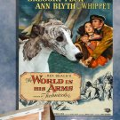 Whippet Poster Canvas Print - The World in His Arms Movie Poster