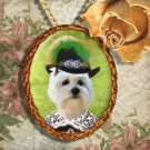 West Highland White Terrier Pendant Jewelry Handcrafted Ceramic - Noble Pirate
