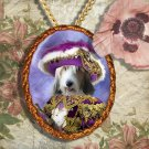 Basset Griffon Vendeen Pendant Jewelry Handcrafted Ceramic - Pirate