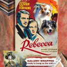 Australian Shepherd Art Prints  - Rebecca Movie Poster