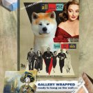 Akita Inu Poster Canvas Print -  All About Eve Movie Poster