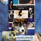 Akita Inu Poster Canvas Print -  The Man with the Golden Arm Movie Poster