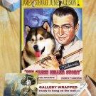 Alaskan Malamute Poster Canvas Print -  The Glenn Miller Story Movie Poster