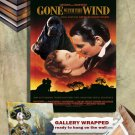 American Cocker Spaniel Canvas Print - Gone with the Wind Movie Poster