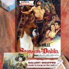 German Boxer Poster Canvas Print  - Samson and Delilah Movie Poster