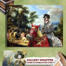 German Boxer Art Print Canvas Fine Artwork GALLERY WRAPPED