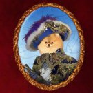 Pomeranian Jewelry Brooch Handcrafted Ceramic by Nobility Dogs