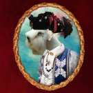 Sealyham Terrier Jewelry Brooch Handcrafted Ceramic by Nobility Dogs