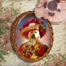 Australian Terrier Jewelry Brooch Handcrafted Ceramic by Nobility Dogs