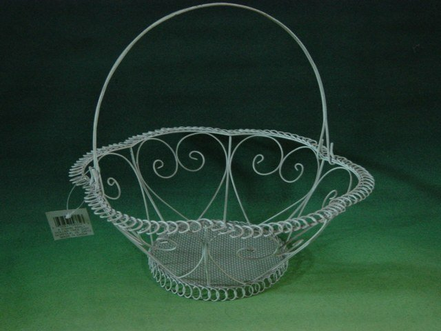 Iron Wire Crafts Flower Basket