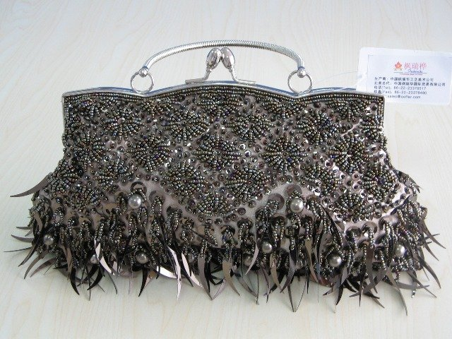 Beaded Embroidery purse -3