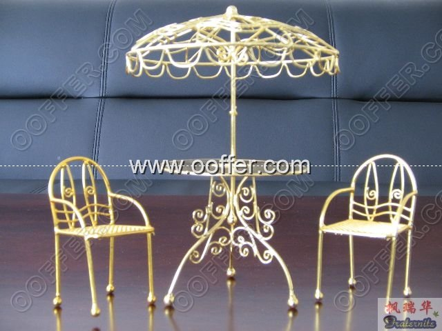 Iron Wire Craft Golden Summer Set