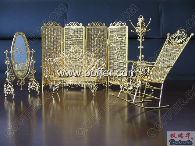 Iron Wire Craft Golden Spring Set
