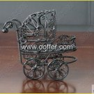 Iron Wire Craft Black Baby Cradle