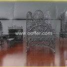 Iron Wire Craft Black Bed Room Set