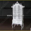 Iron Wire Craft White Cabinet