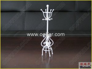 Iron Wire Craft White Clothtree