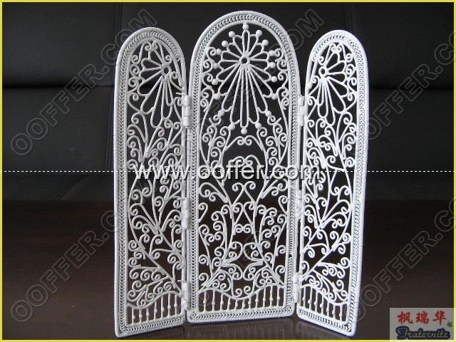 Iron Wire Craft White Screen