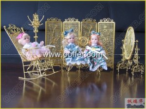 Iron Wire Craft Golden Living Set