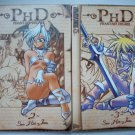 PHD KOREAN MANWHA VOL. 2-3 MANGA GRAPHIC NOVEL ANIME